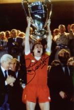 LIVERPOOL: 8x12 inch photo signedby former Liverpo