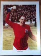 1966 WORLD CUP: 16x12 inch photosigned by England