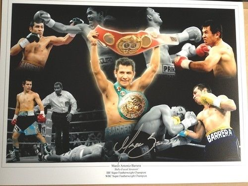 MARCO ANTONIO BARRERA: 16x12 inchphoto signed by M