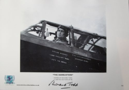 THE DAMBUSTERS: 16x12 inch photoprint a limited ed