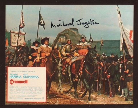 CROMWELL: 8x10 inch photo signedby actor Michael J