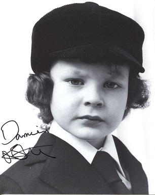 THE OMEN: 8x10 inch photo signedby actor Harvey St