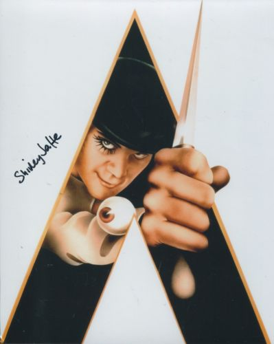 CLOCKWORK ORANGE: 8x10 inch photosigned by actress