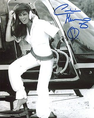 JAMES BOND: 8x10 inch photosigned by actress Carol