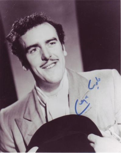 GEORGE COLE: 8x10 inch photosigned by actor the la