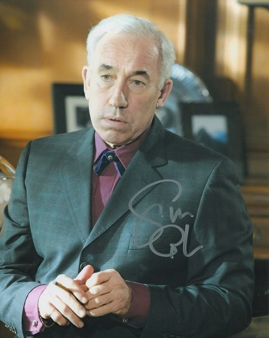 SIMON CALLOW: 8x10 inch photosigned by actor Simon