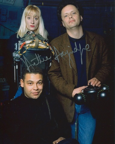 ED DWARF: 8x10 inch photo signedby actress and com