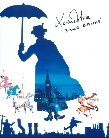 MARY POPPINS: 8x10 inch photofrom the classic Walt