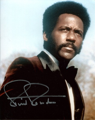 RICHARD ROUNDTREE: 8x10 photosigned by actor Richa
