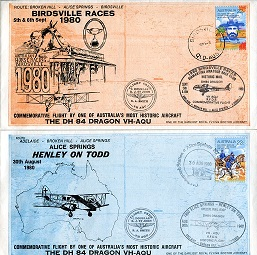AUSTRALIAN AVIATION COVERS: Apair of mint conditio