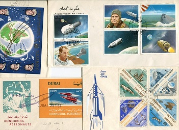 SPACE FDC COLLECTION: Acollection  of 12 covers, s