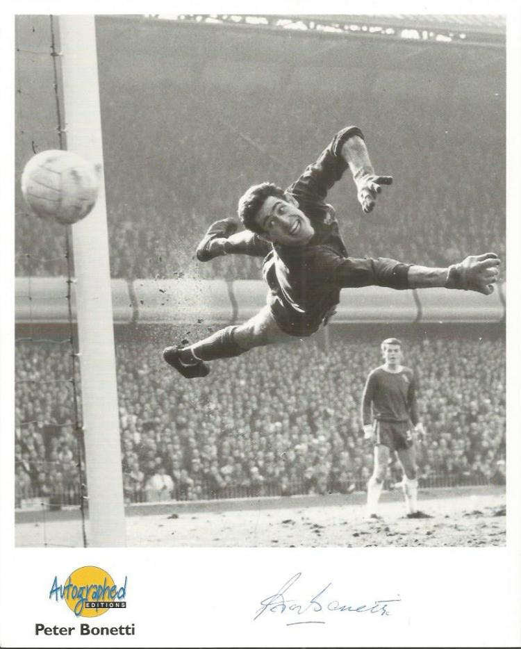 PETER BONETTI signed 8x10 Autographed Editions Pho
