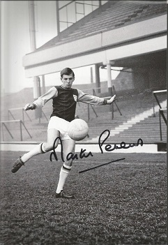 MARTIN PETERS signed West Ham 8x12 Photo. Good con