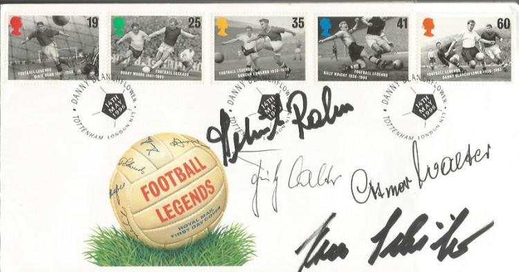 WEST GERMANY 1954 World Cup Winners signed FDC Ott