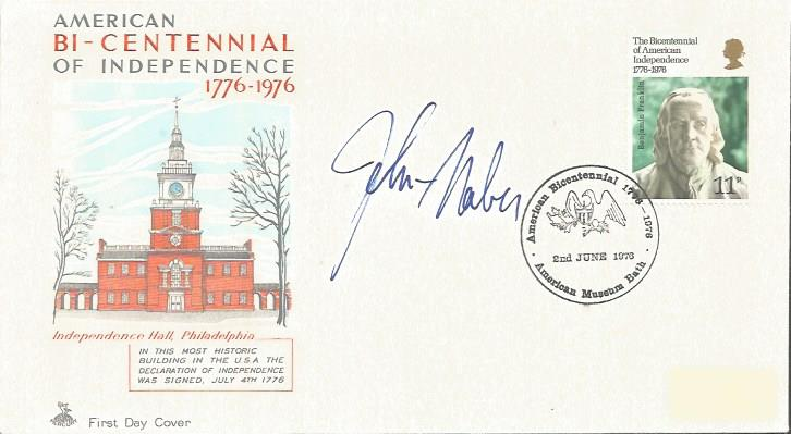 John Naber signed FDC. American former competitio
