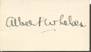 Albert Whelan signature piece. Australian singer