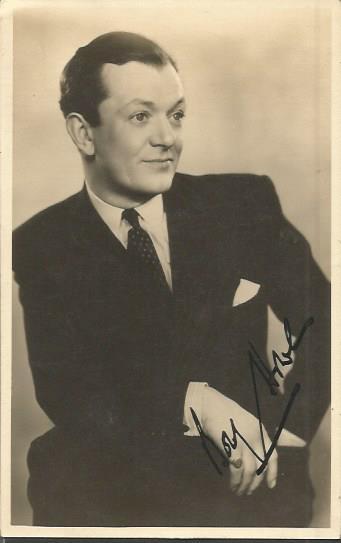 Bobby Howes signed 6 x 4 sepia photo. British ent