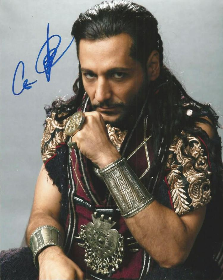 Cas Anvar signed colour 10x8 photo from Assassins