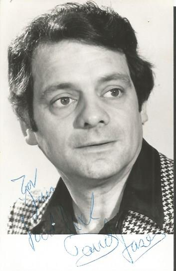 David Jason signed 6 x 4 Only Fools and Horses ded