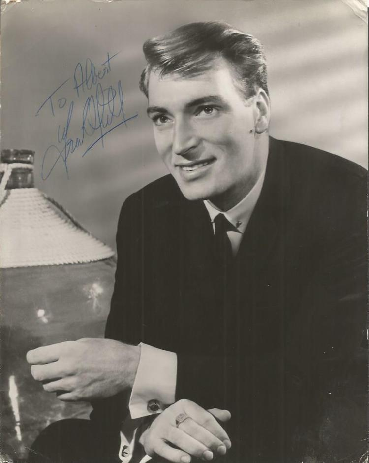 Frank Ifield signed superb young image 10x8 b/w ph