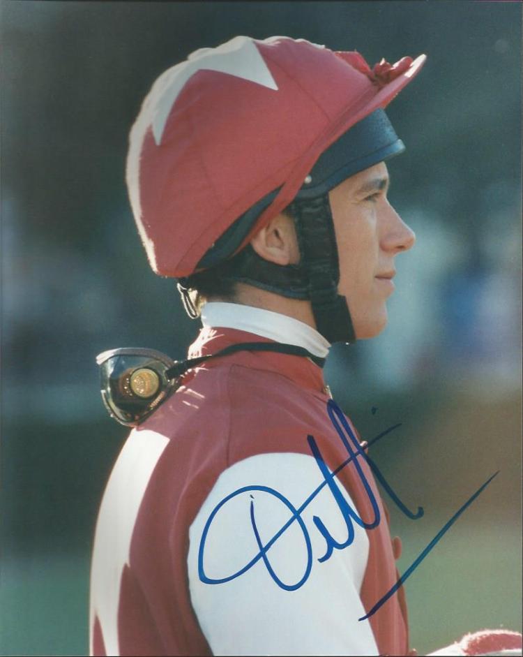 Frankie Dettori Top Flat Racing Jockey Horse Racin