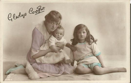 Gladys Cooper four Unsigned vintage 6 x 4 photos.