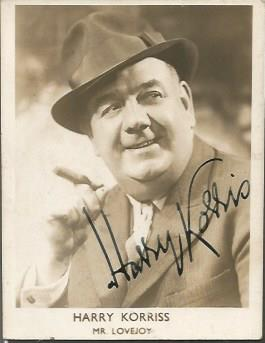 Harry Korris Mr Lovejoy two 2 x 2 signed vintage p