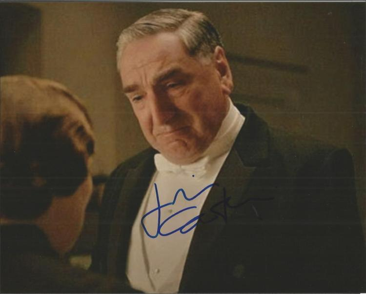 Jim Carter signed colour 10x8 Downtown Abbey photo