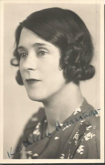 Kathleen Harrison signed 6 x 4 vintage photo.  Eng