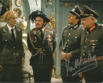 Ken Morley signed 10x8 colour photo from Allo Allo