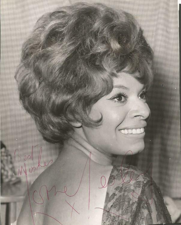Lorne Lesley signed 8x6 b/w photo singer 1960s hit