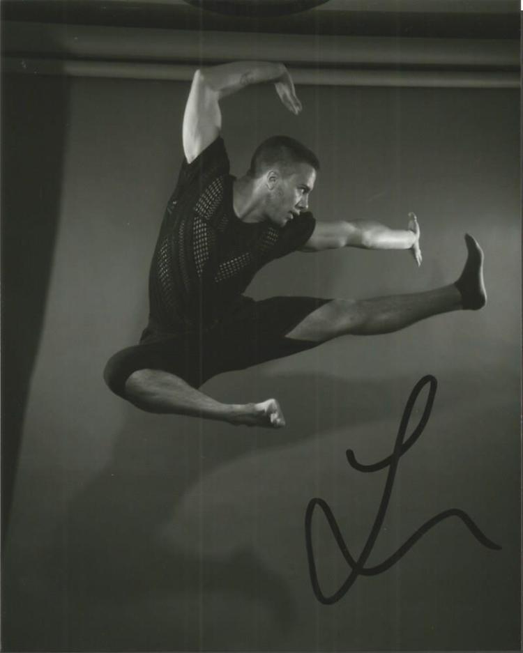 Lukas McFarlane signed 10x8 b/w photo Lukas was cr
