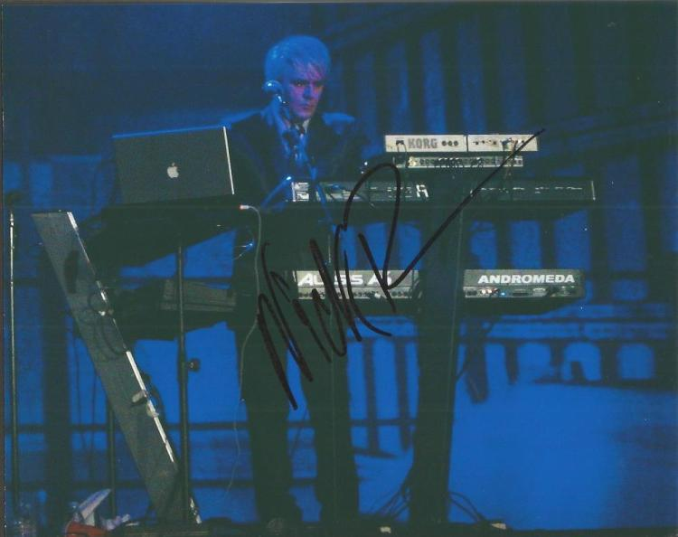 Nick Rhodes Duran Duran signed 10x8 colour photo E