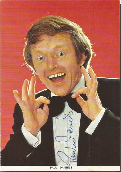Paul Daniels late great Magician and entertainer s