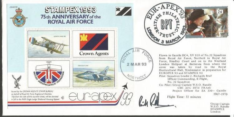 Bill Randle DFM WW2 Wellington pilot and Escaper s