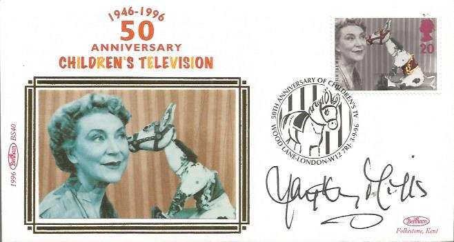 Hayley Mills signed Benham Small Sild FDC 1996 50t