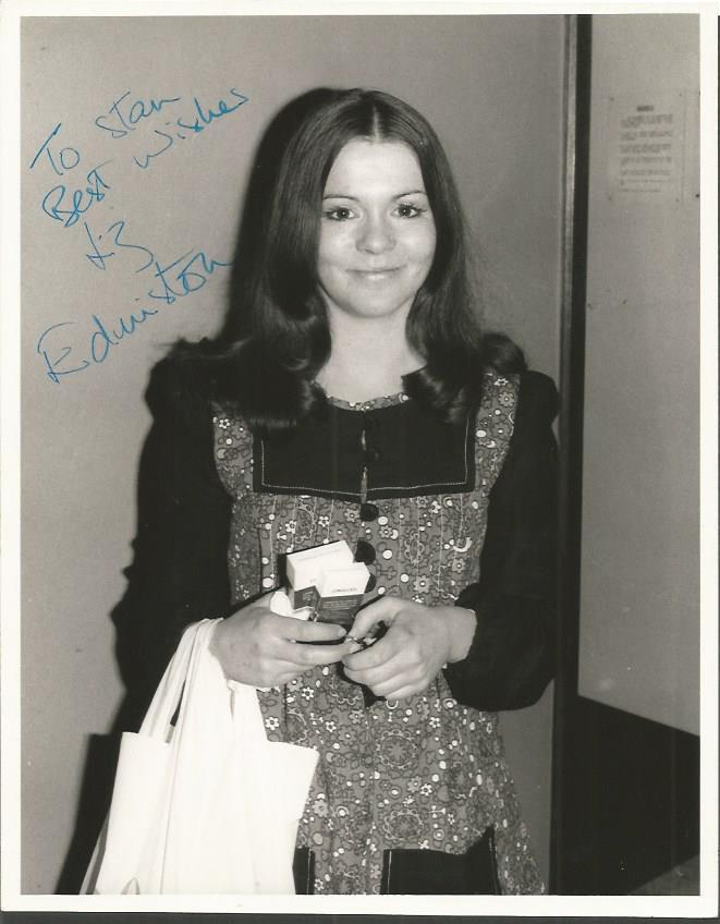 Liz Edmunston signed 8 x 6 b/w photo. Dedicated G