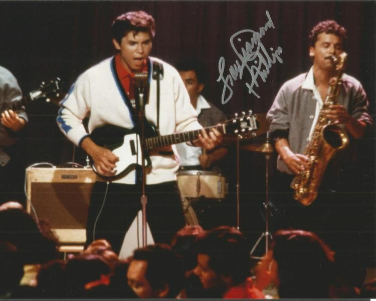 Lou Diamond Phillips signed 10x8 colour photo. Am