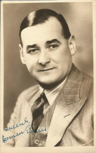 Norman Evans signed vintage 6 x 4 photo. Variety a