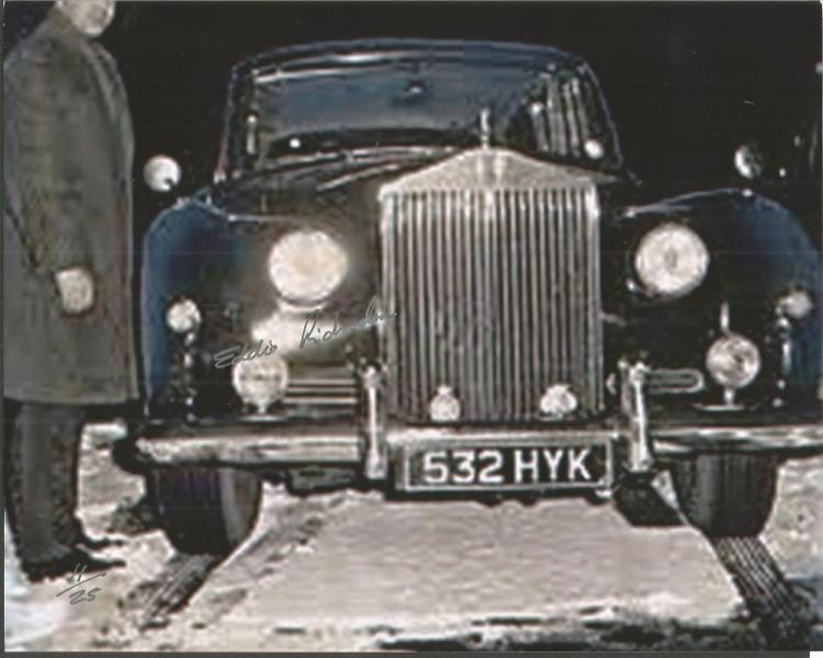 Eddie Richardson Gangster signed 10x8 colour photo