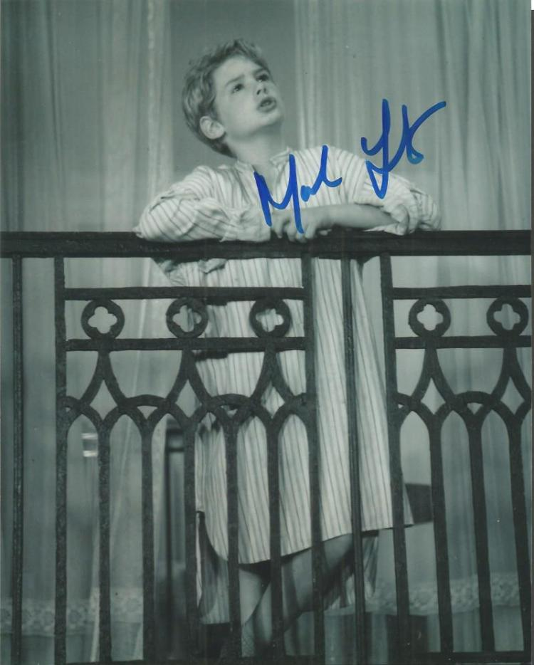 Mark Lester signed 10x8 b/w photo from Oliver Good