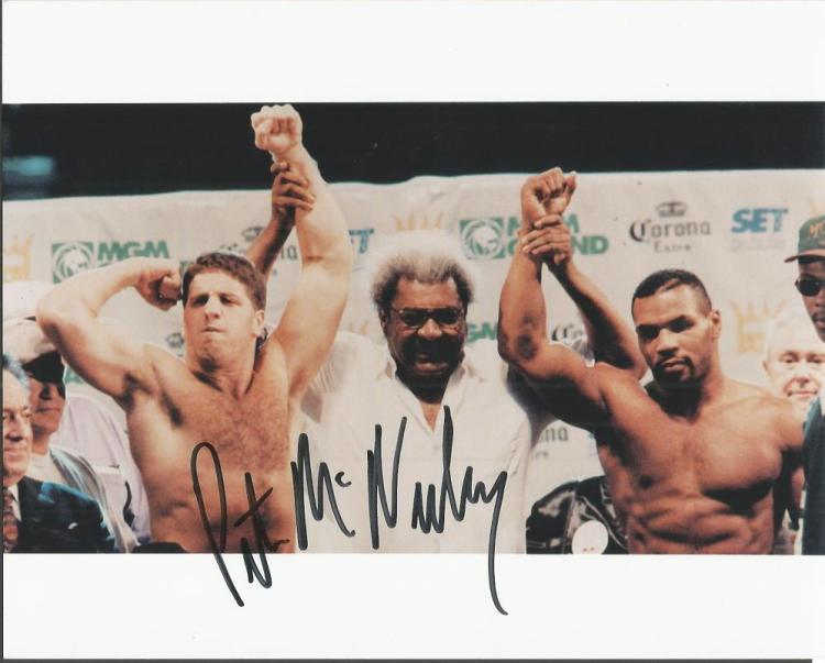 Pat McNeeley signed 10x8 colour photo with Don Kin