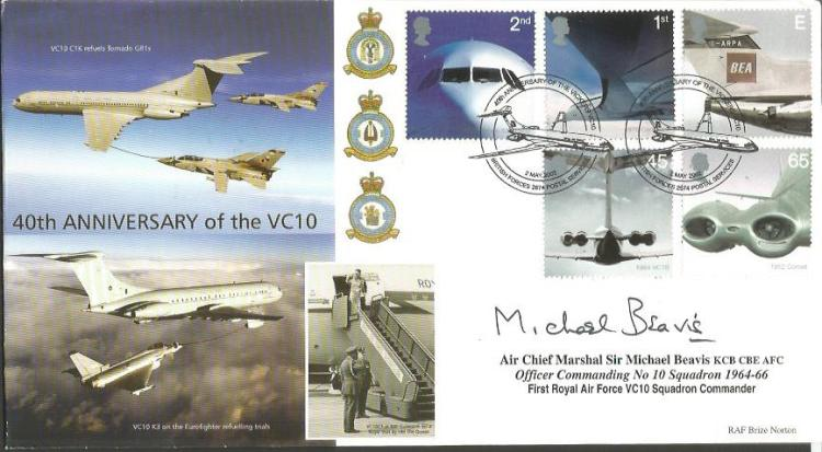Air Chief Marshal Sir Michael Beavis signed 40th a