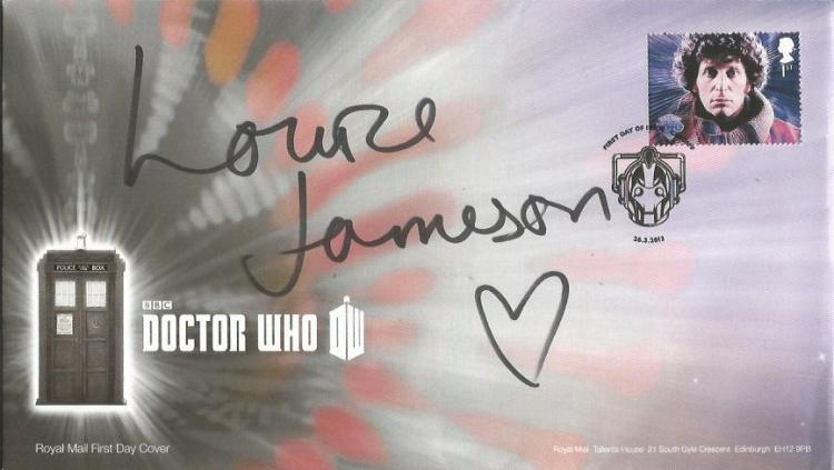 Louise Jameson signed Doctor Who FDC Good conditio