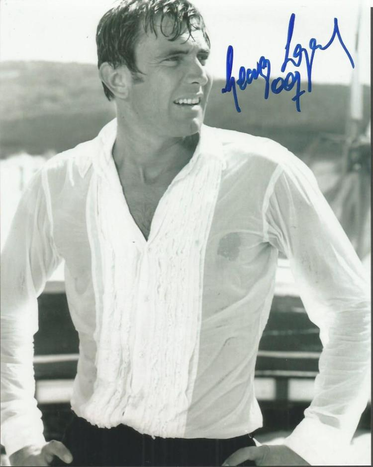 George Lazenby signed 10x8 b/w photo Good conditio