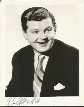 Benny Hill signed 6 x 4 b/w photo Good condition.