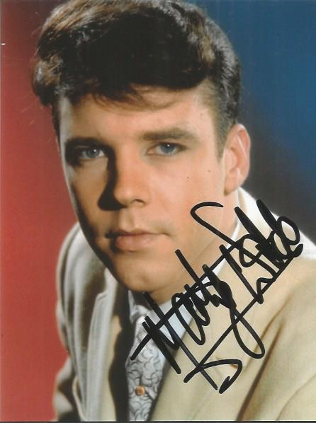 Marty Wilde signed 6x4 colour photo Good condition