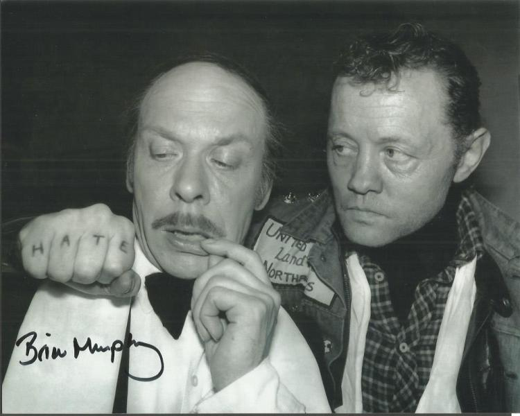 Brian Murphy signed 10x8 b/w photo Good condition.