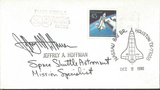 Jeffrey A Hoffman space shuttle astronaut mission