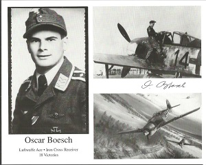 Oscar Boesch signed 10x8 b/w photo Good condition.